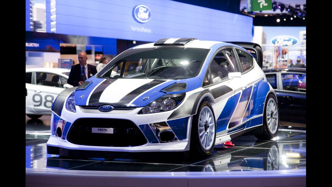 Ford Fiesta WRC 2011 - Paris