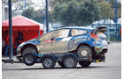 Ford Fiesta WRC, Anhänger