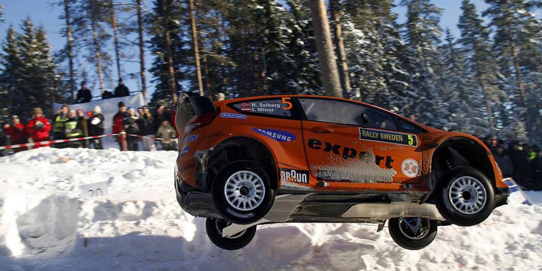 Ford Fiesta WRC, Henning Solberg, Rallye Schweden 2011