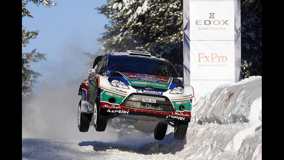 Ford Fiesta WRC, Hirvonen, Rallye Schweden 2011