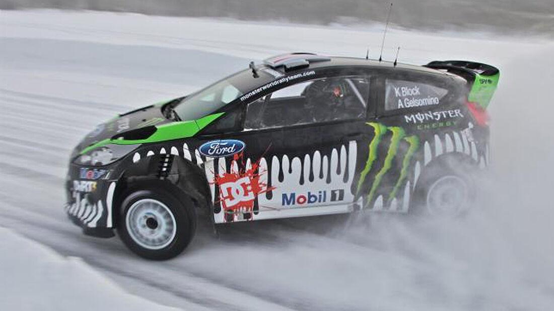 Ford Fiesta WRC, Ken Block