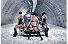 Ford Fiesta WRC, Ken Block, Monster-Girls