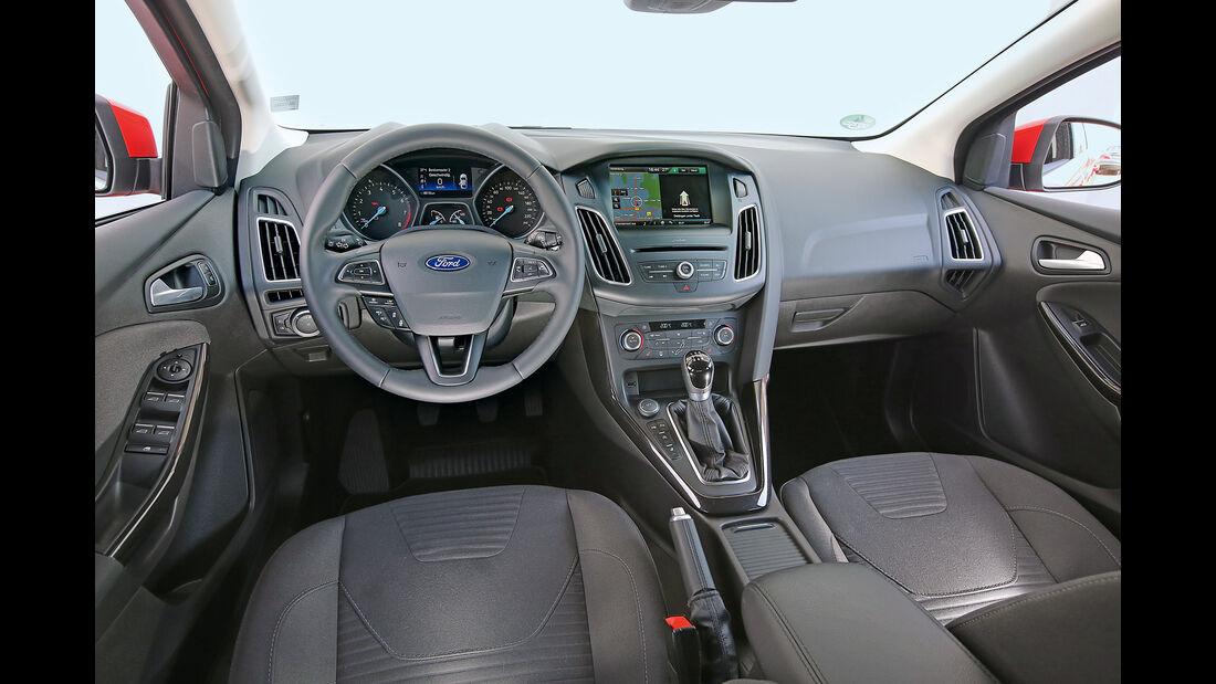 Ford Focus 1.0 Ecoboost, Cockpit