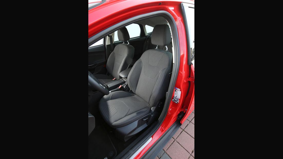 Ford Focus 1.0 Ecoboost, Fahrersitz