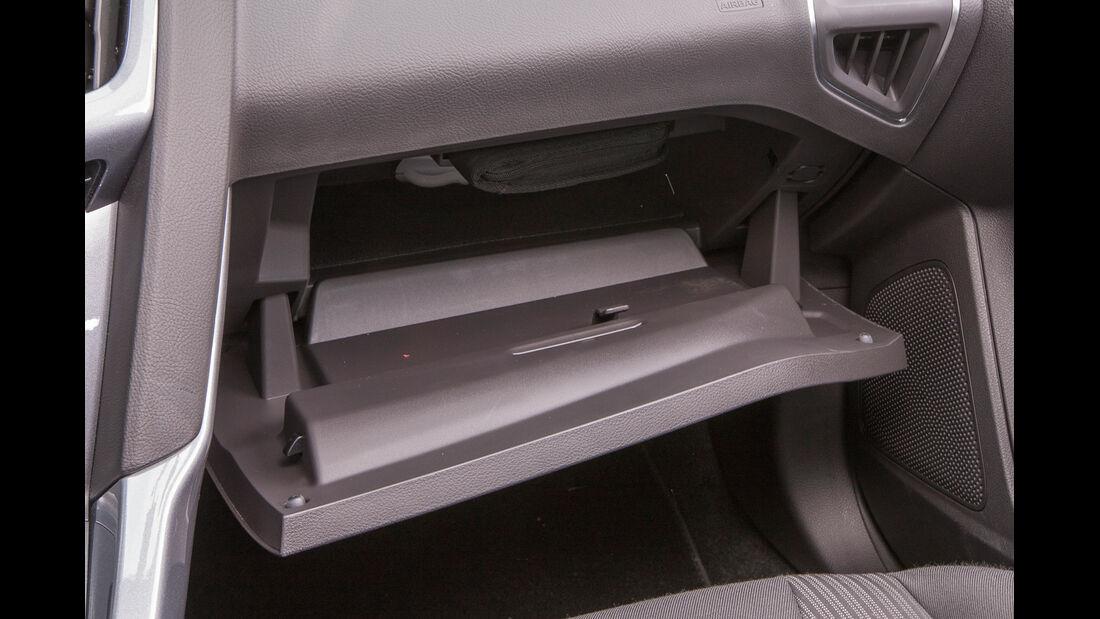 Ford Focus 1.0 Ecoboost, Handschuhfach