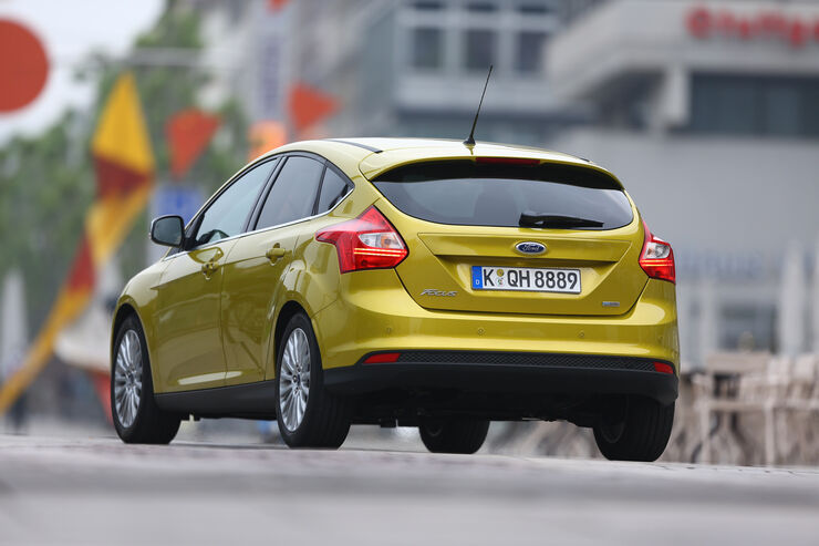 Ford Focus 1.0 Ecoboost, Heck
