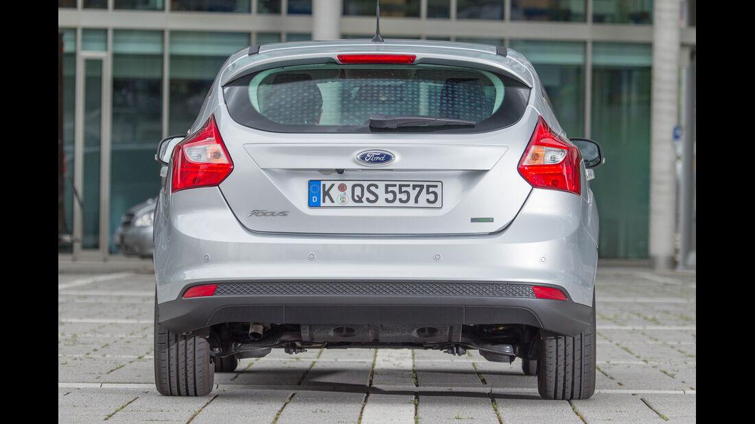 Ford Focus 1.0 Ecoboost, Heckansicht