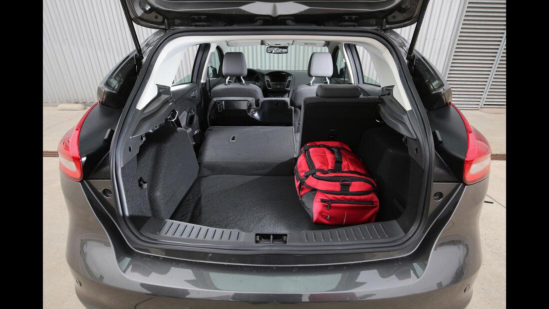 Ford Focus 1.0 Ecoboost, Kofferraum