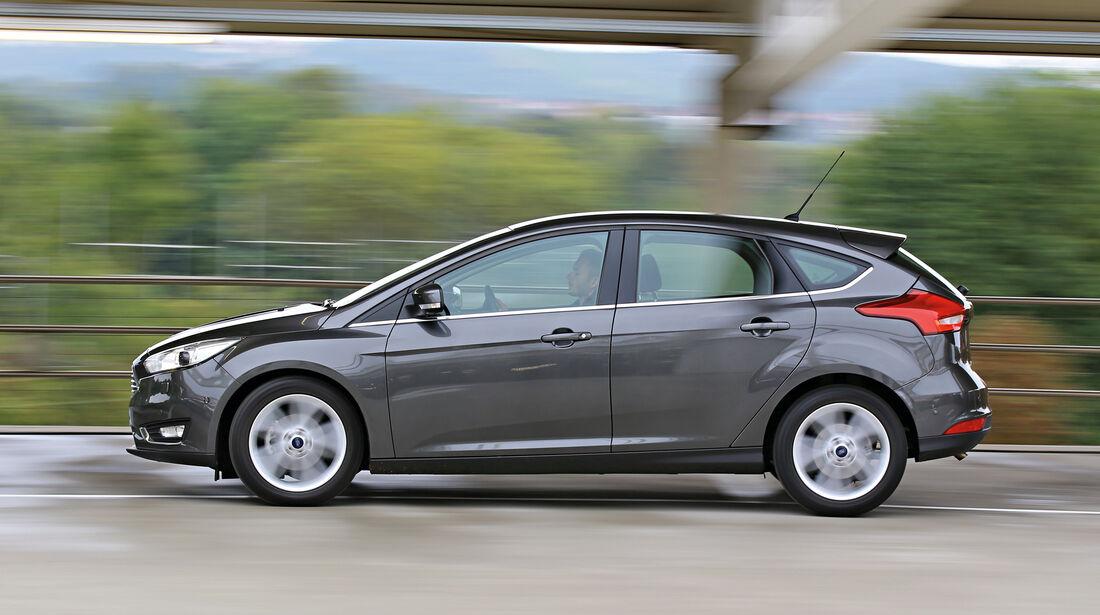 Ford Focus 1.0 Ecoboost, Seitenansicht