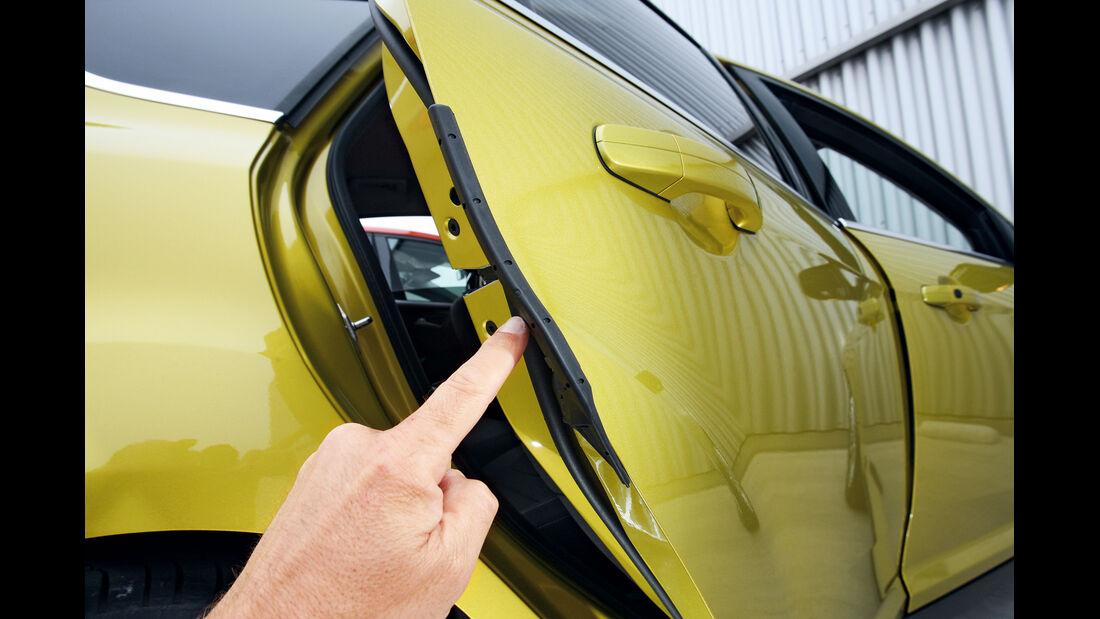 Ford Focus 1.0 Ecoboost, Seitentür