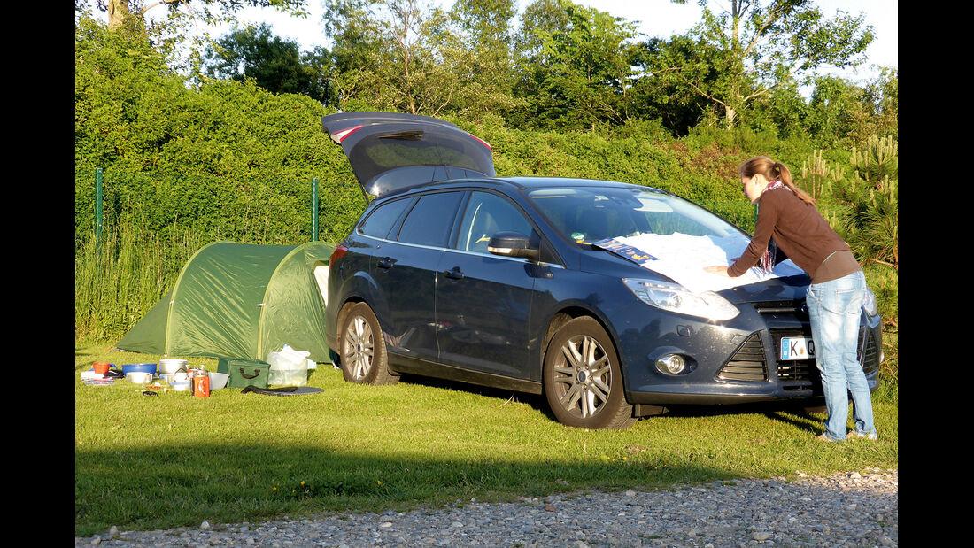 Ford Focus 1.0 Ecoboost Turnier Titanium, Frontansicht