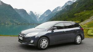 Ford Focus 1.0 Ecoboost Turnier Titanium, Seitenansicht