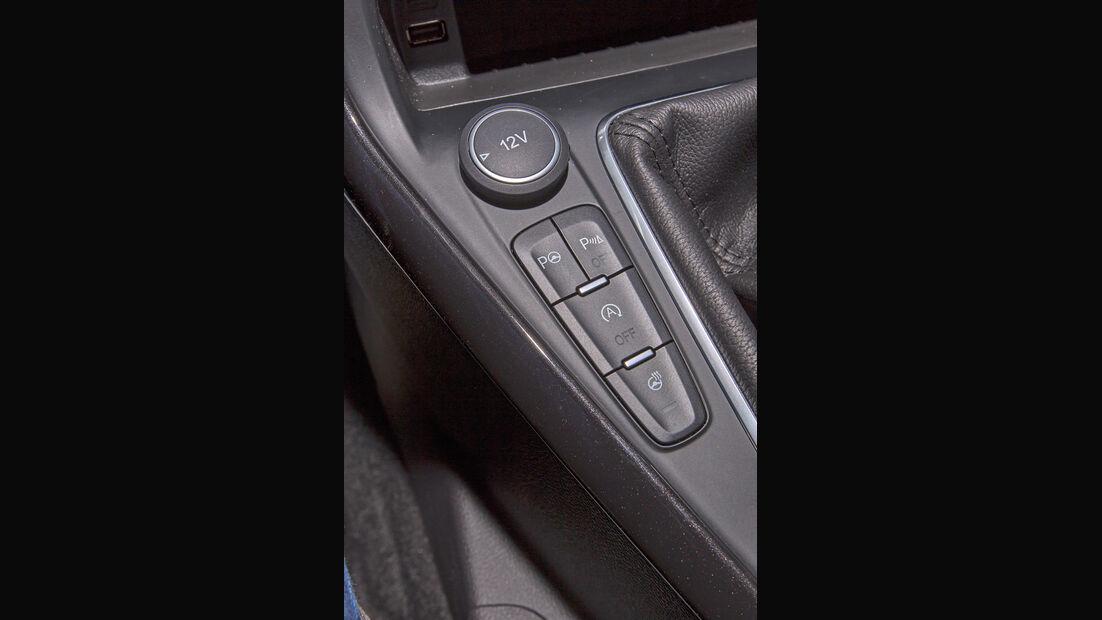 Ford Focus 1.5 Ecoboost, Bedienelemente