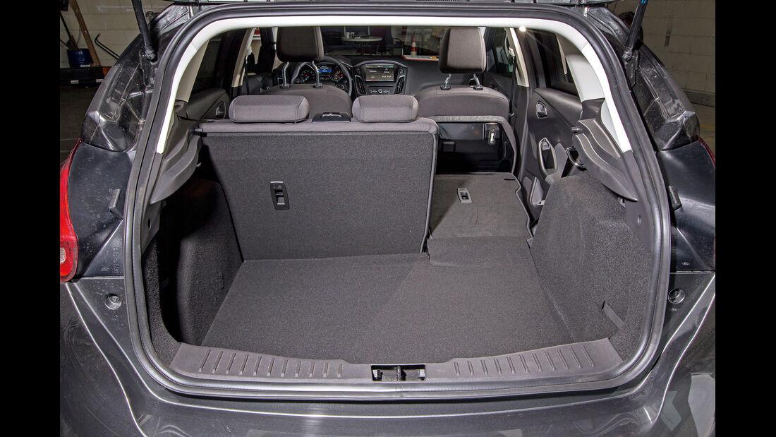 Ford Focus 1.5 Ecoboost, Kofferraum
