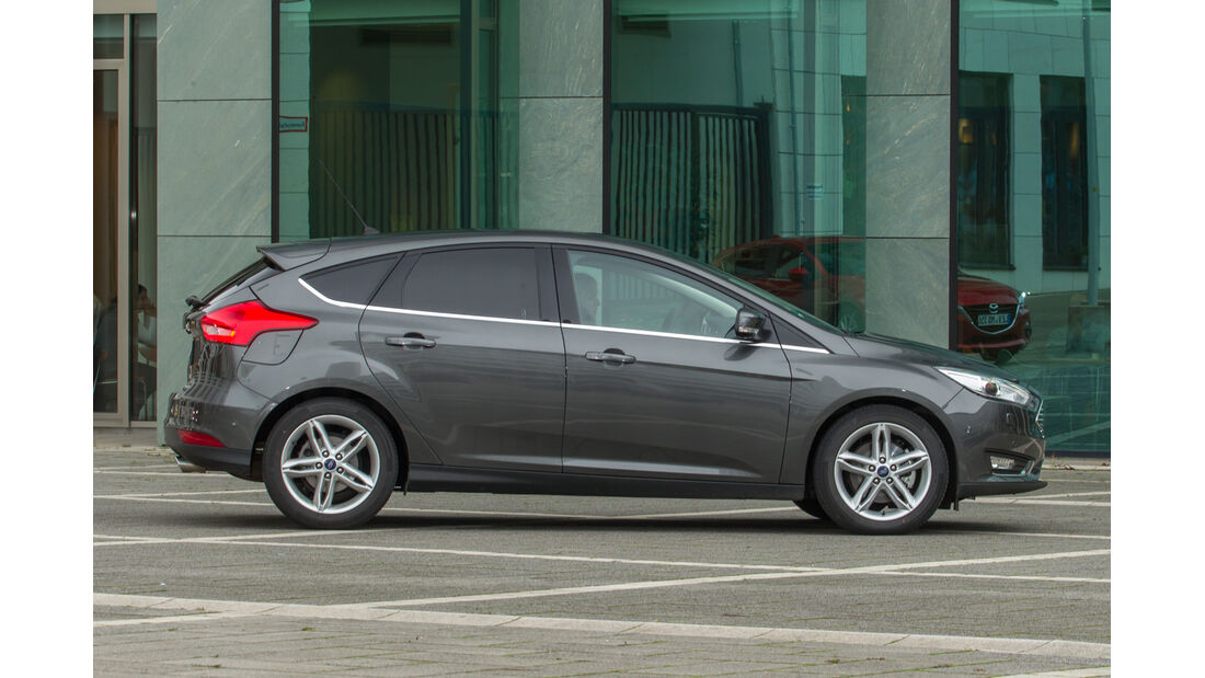 Ford Focus 1.5 Ecoboost, Seitenansicht