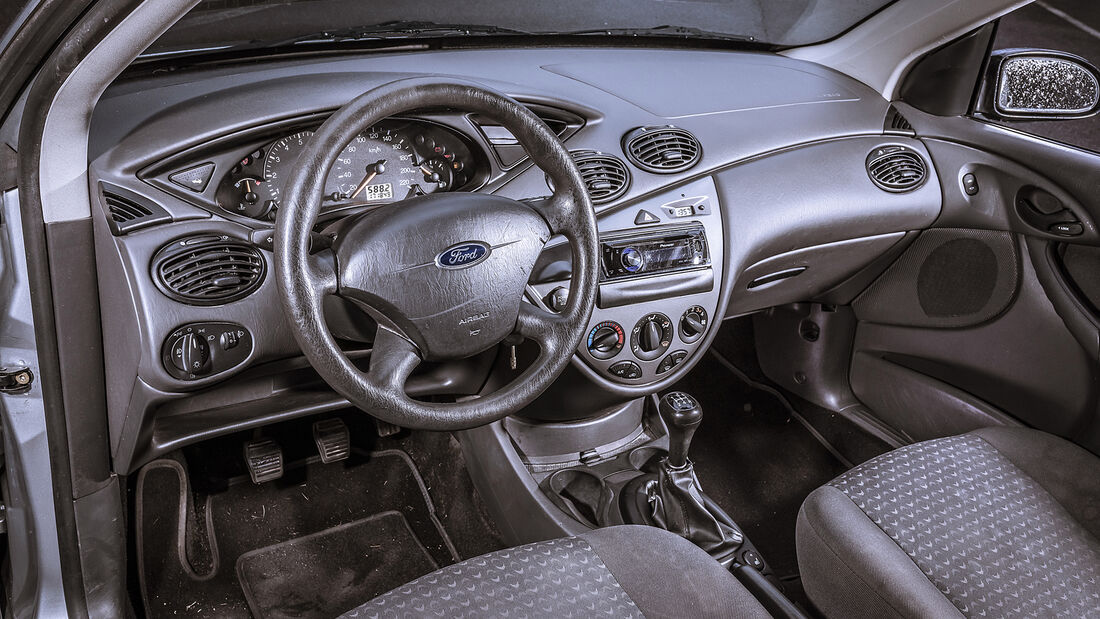 Ford Focus 1.6 16V, Interieur
