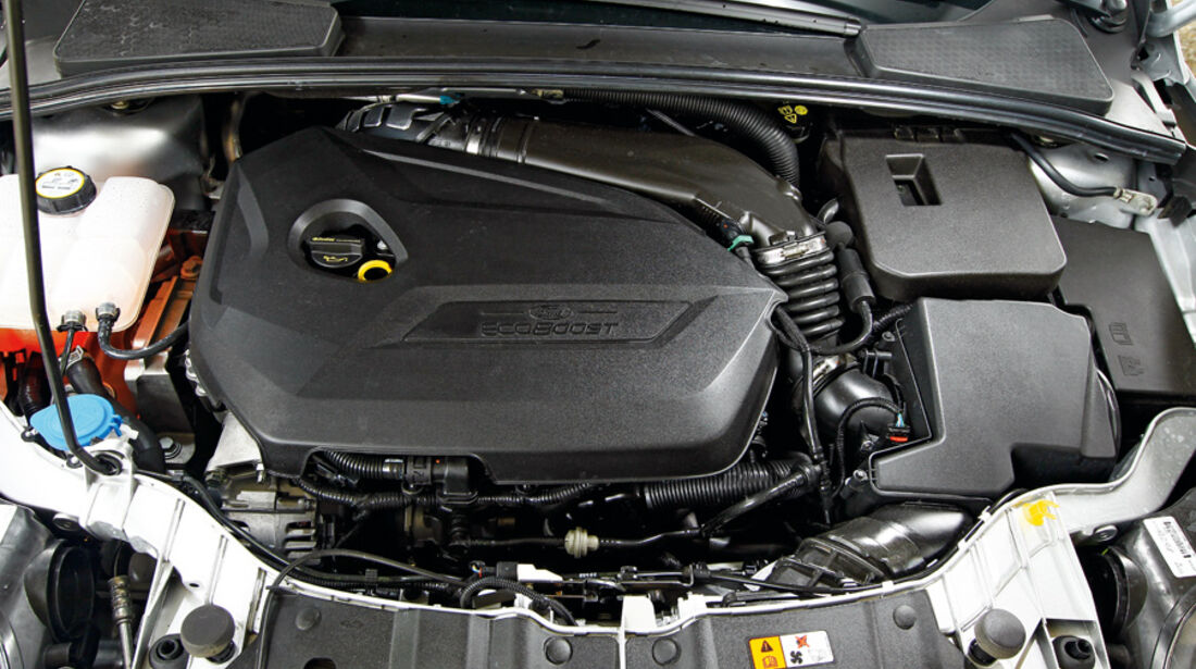 Ford Focus 1.6 ECOBOOST, Motor, Motorraum