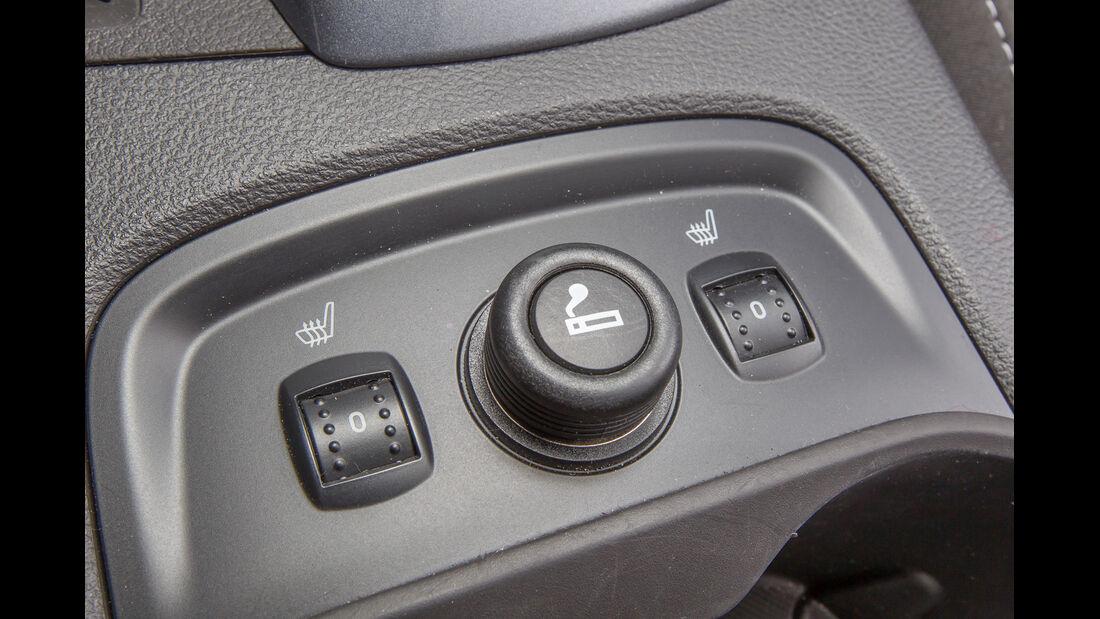 Ford Focus 1.6 Eciboost Turnier, Bedienelemente