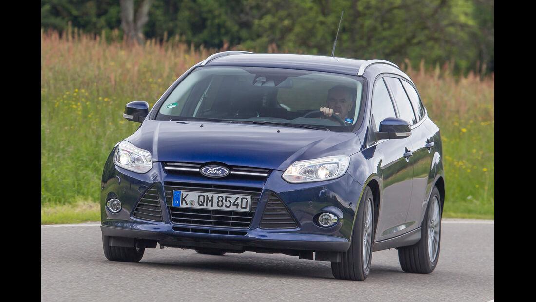 Ford Focus 1.6 Eciboost Turnier, Frontansicht