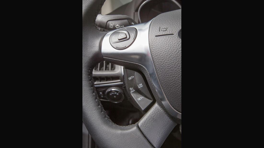 Ford Focus 1.6 Eciboost Turnier, Lenkradschalter