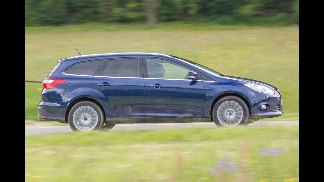 Ford Focus 1.6 Eciboost Turnier, Seitenansicht