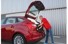Ford Focus 1.6 Ecoboost, Beim Einladen
