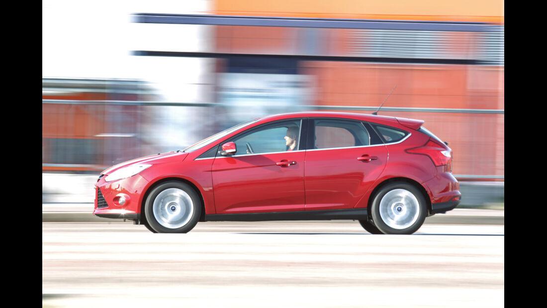 Ford Focus 1.6 Ecoboost, Bremstest, Wasser