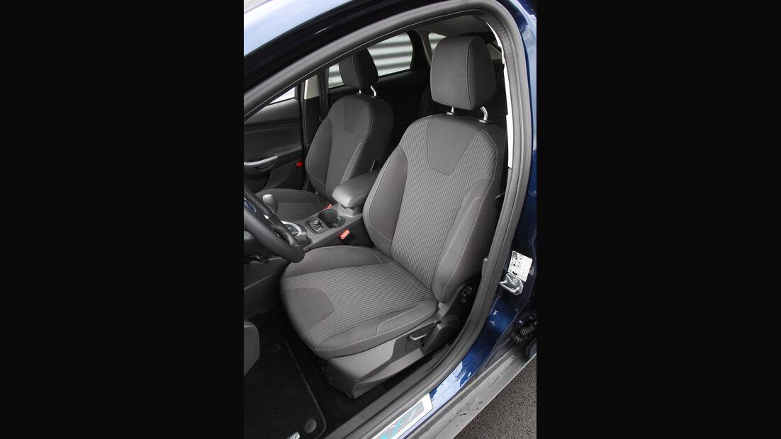 Ford Focus 1.6 Ecoboost, Fahrersitz