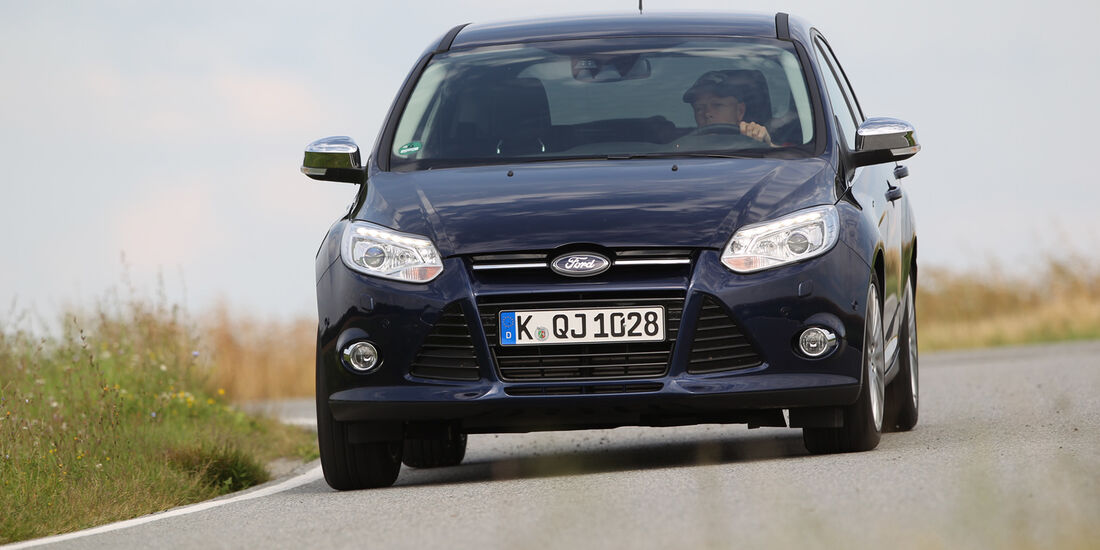 Ford Focus 1.6 Ecoboost, Frontansicht