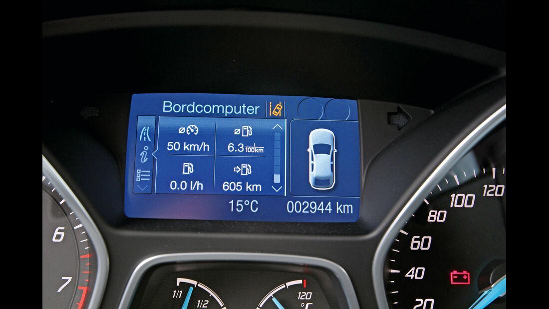 Ford Focus 1.6 Ecoboost, Navi, Display