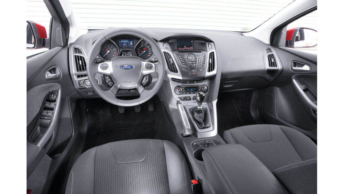 Ford Focus 1.6 Ecoboost Turnier Titan, Cockpit, Lenkrad