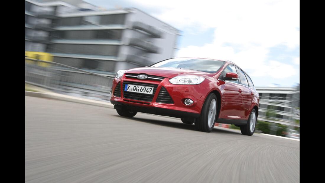 Ford Focus 1.6 Ecoboost Turnier Titan, Frontansicht