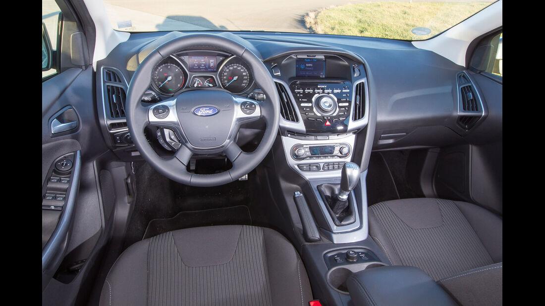 Ford Focus 1.6 TDCI Turnier, Cockpit