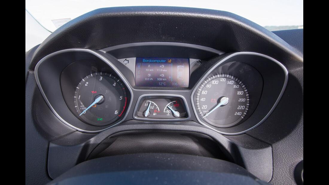 Ford Focus 1.6 TDCI Turnier, Rundinstrumente