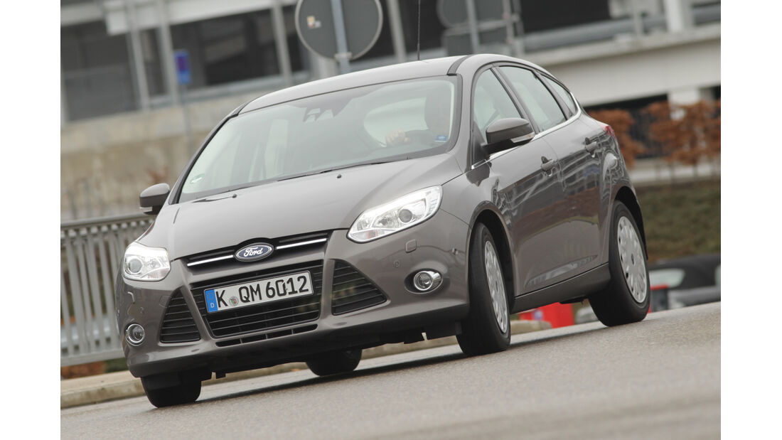 Ford Focus 1.6 TDCi ECOnetic 88g Trend, Frontansicht