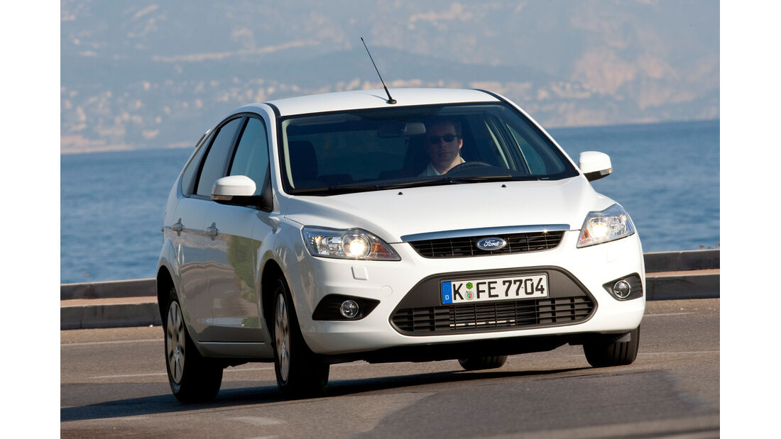 Ford Focus 2.0 BI-Fuel, Frontansicht