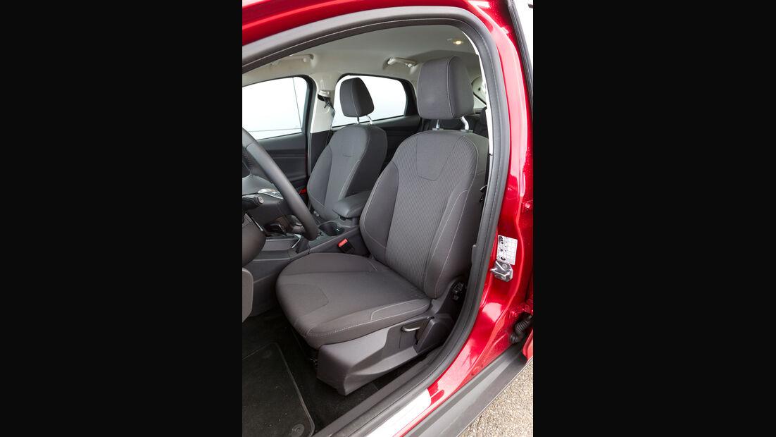Ford Focus 2.0 TDCi, Fahrersitz