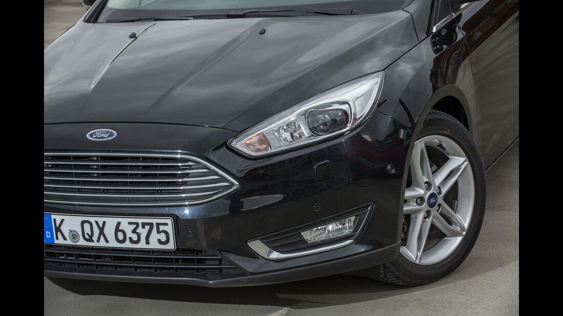 Ford Focus 2.0 TDCi, Frontscheinwerfer