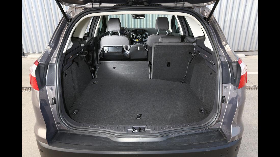 Ford Focus 2.0 TDCi, Kofferraum, Ladefläche