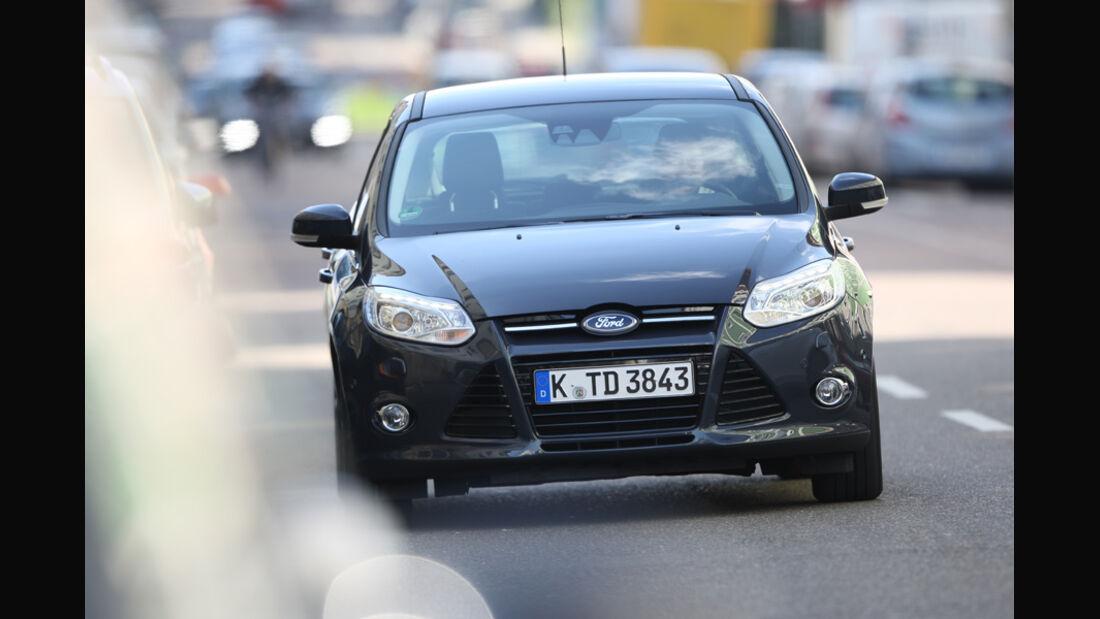 Ford Focus 2.0 TDCi Titanium, Frontansicht