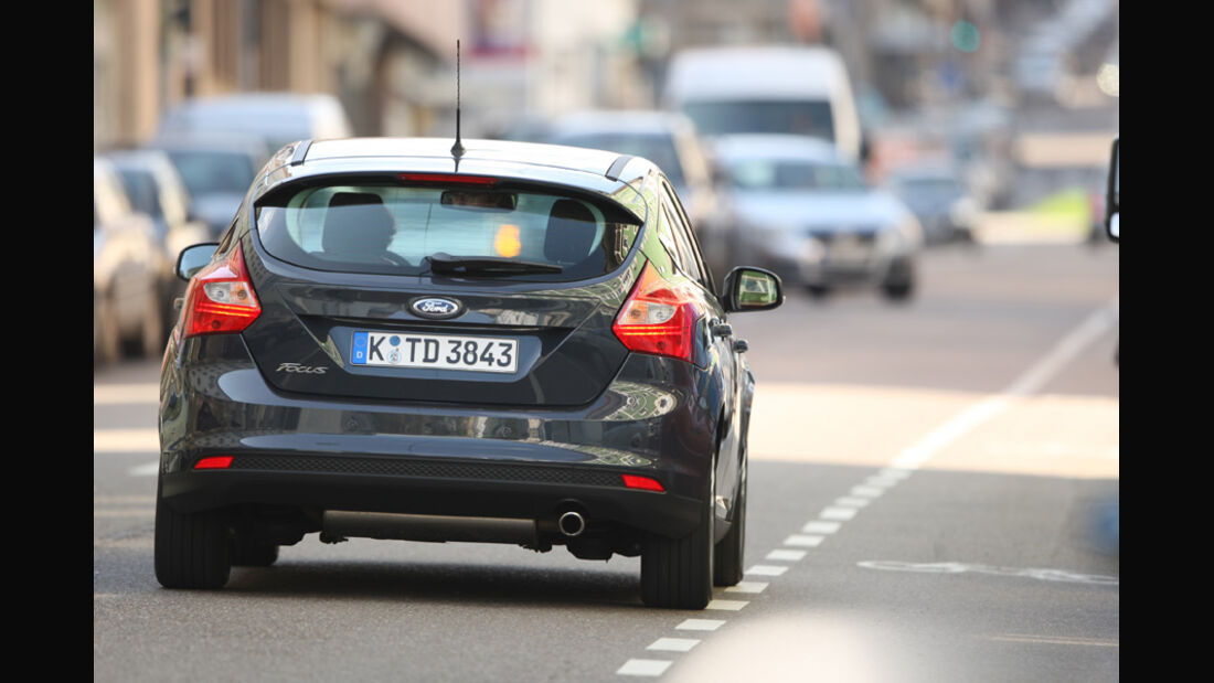 Ford Focus 2.0 TDCi Titanium, Heckansicht