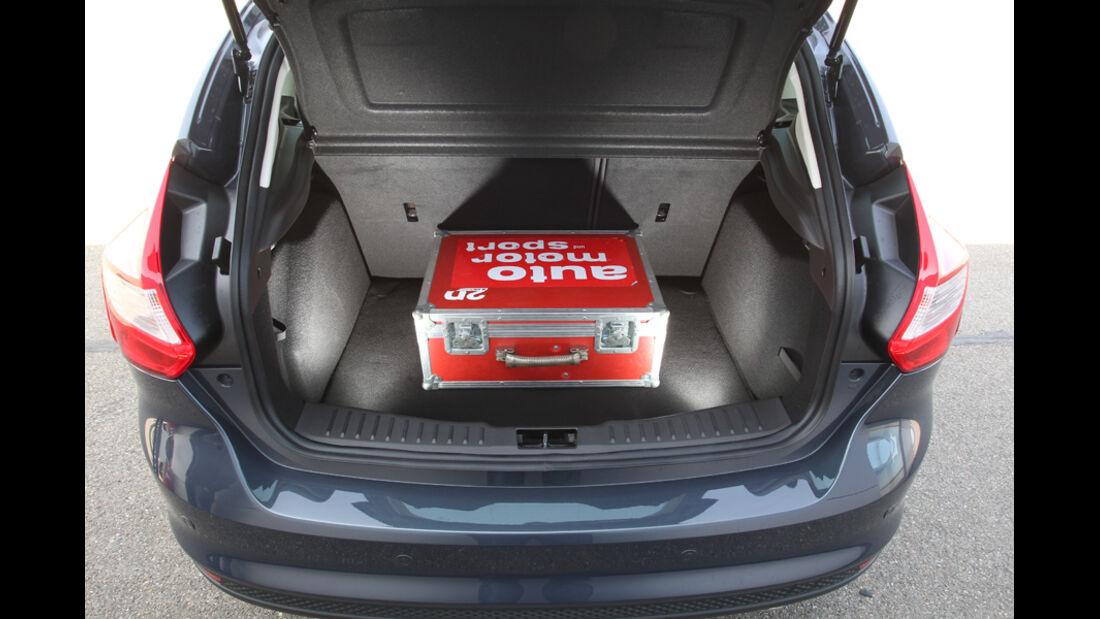 Ford Focus 2.0 TDCi Titanium, Kofferraum