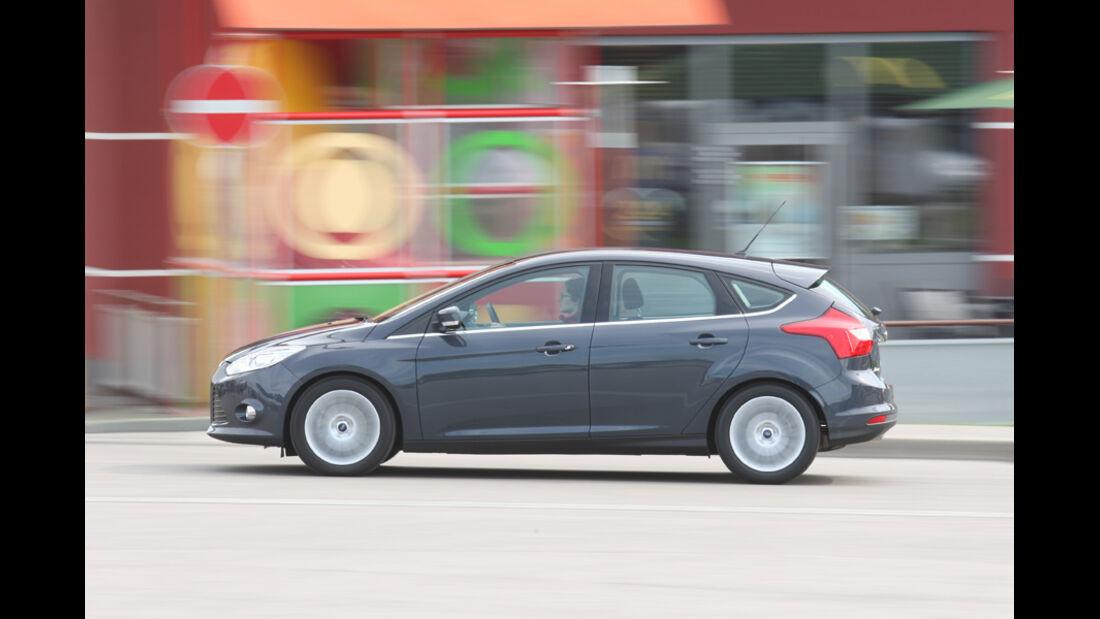 Ford Focus 2.0 TDCi Titanium, Seitenansicht