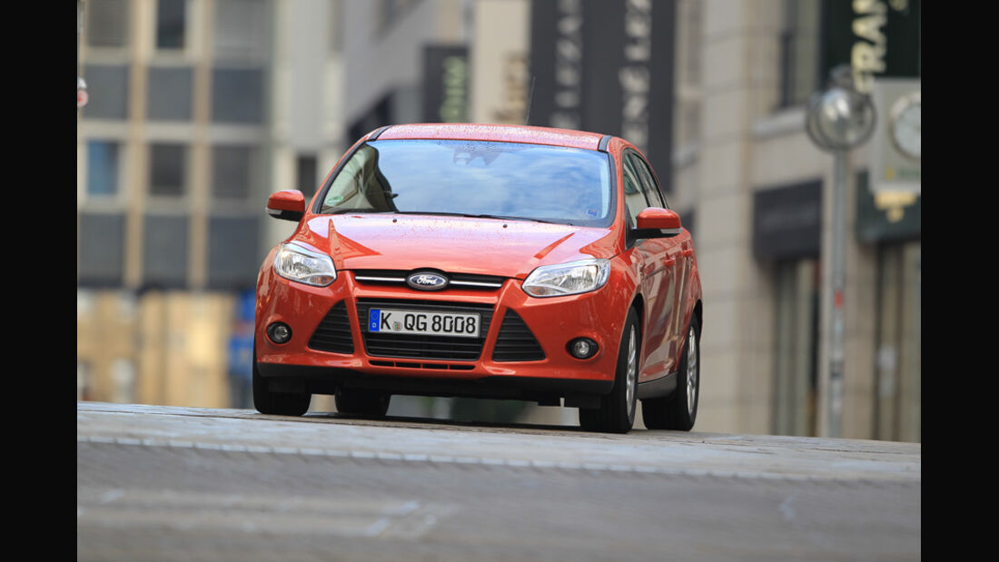 Ford Focus 2.0 TDCi Trend, Frontansicht