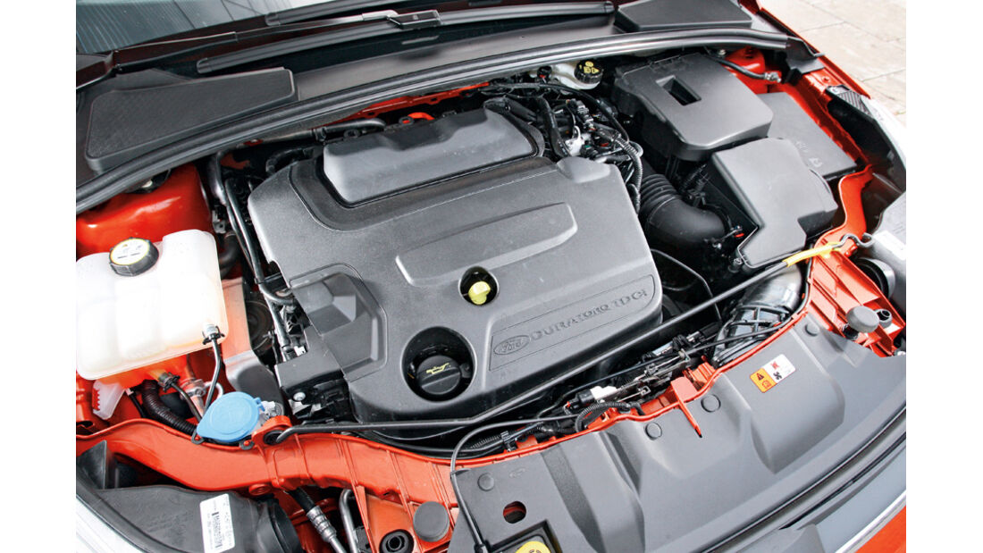 Ford Focus 2.0 TDCi Trend, Motor