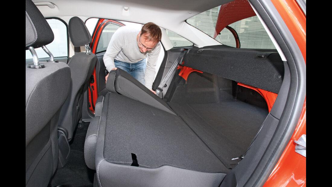 Ford Focus 2.0 TDCi Trend, Rücksitz, umklappbar