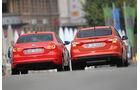 Ford Focus 2.0 TDCi Trend, VW Jetta 2.0 TDI Highline, Heck