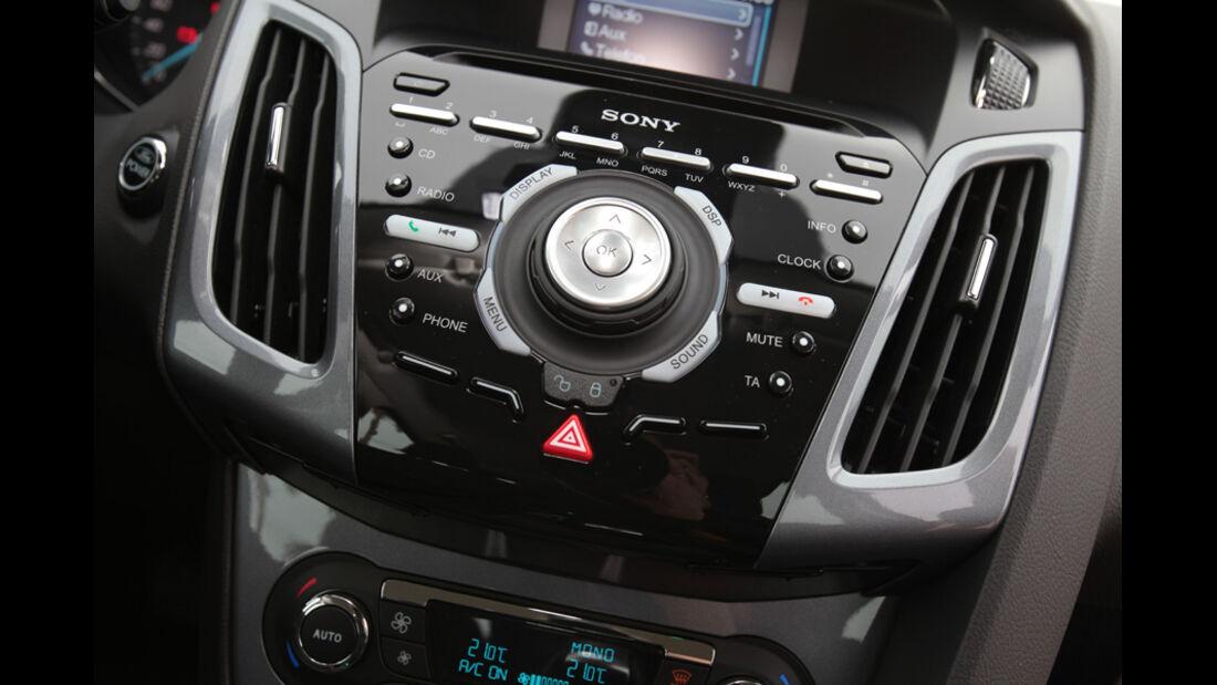 Ford Focus Cockpit Detail