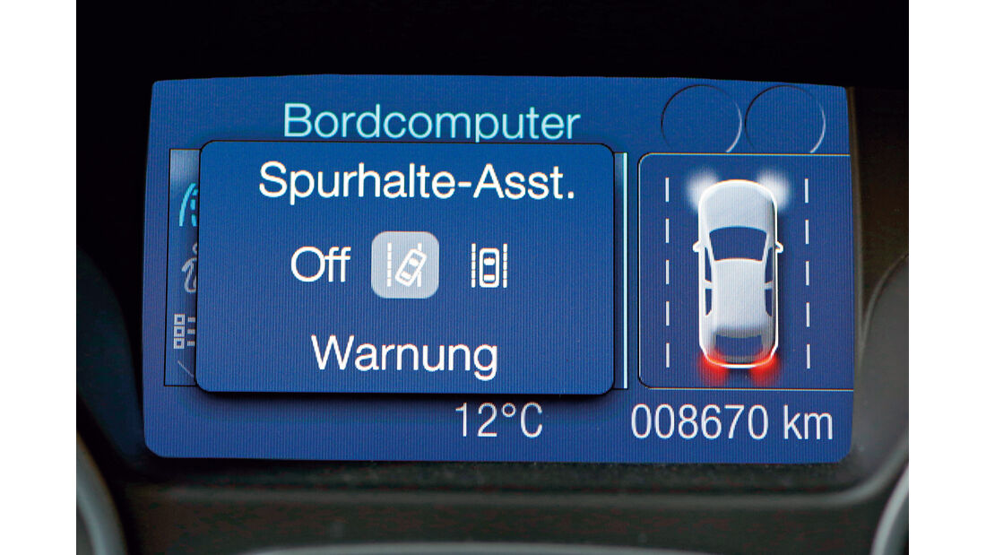Ford Focus, Display, Infotainment