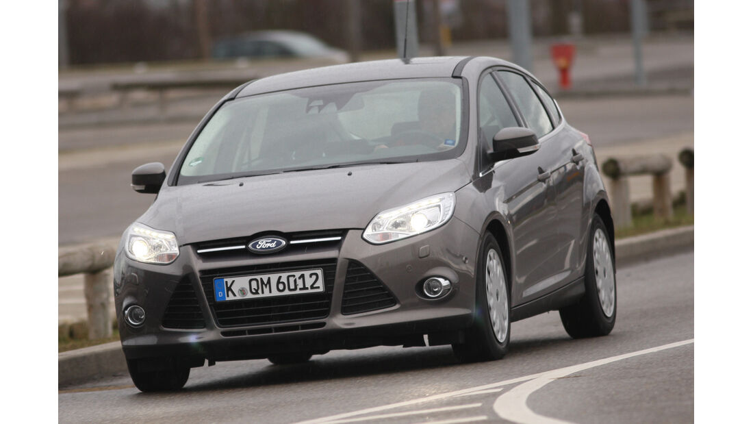 Ford Focus Econetic, Frontansicht